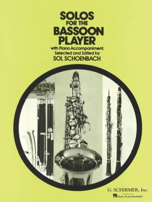 Sol Schoenbach - Solos for the Bassoon Player - Partition - di-arezzo.fr