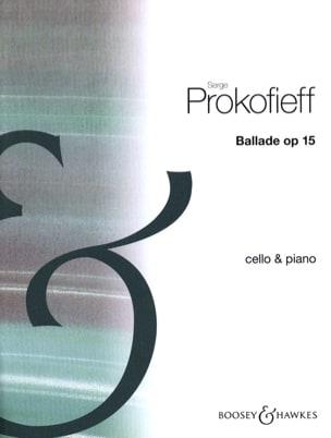 Serge Prokofiev - バラード15 - 楽譜 - di-arezzo.jp