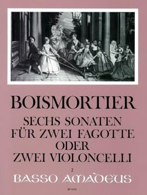 BOISMORTIER - 6 Opus 14 Sonatas - Sheet Music - di-arezzo.co.uk