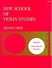 Adam Carse - New school of violin studies - Volume 5 - Partition - di-arezzo.fr