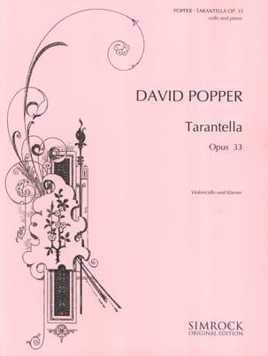 David Popper - Tarantella op. 33 - Partitura - di-arezzo.es
