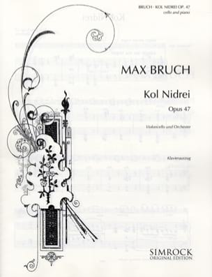 Max Bruch - Kol Nidrei op. 47 - Cello - Sheet Music - di-arezzo.co.uk