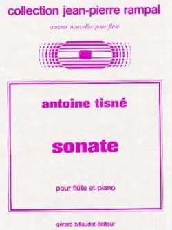Antoine Tisné - Sonate – Flûte piano - Partition - di-arezzo.fr