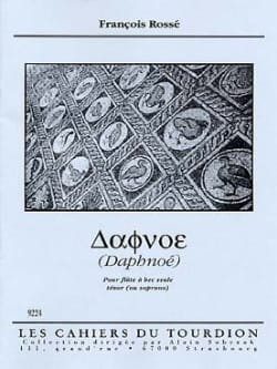 François Rossé - Daphnoé - Sheet Music - di-arezzo.co.uk