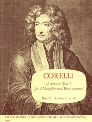 Arcangelo Corelli - 12 Sonaten op. 5 - Bd. 2 – Altblockflöte u. Bc - Partition - di-arezzo.fr