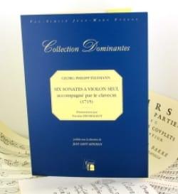 TELEMANN - 6 Sonates 1715 - Partition - di-arezzo.fr