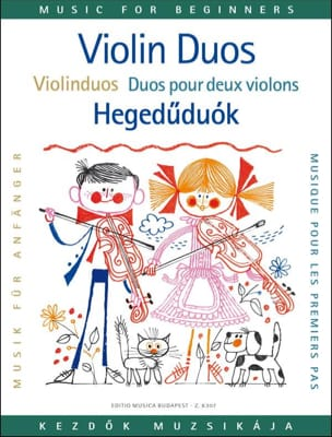 Lajos Vigh - Duos for the first steps, 2 violins - Sheet Music - di-arezzo.co.uk