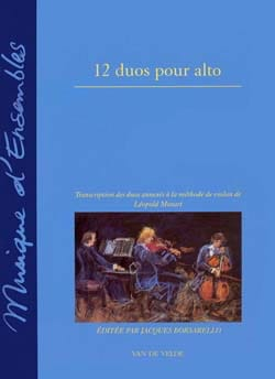 Leopold Mozart - 12 Duets for viola - Sheet Music - di-arezzo.co.uk