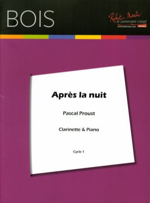 Pascal Proust - After the night - Sheet Music - di-arezzo.co.uk