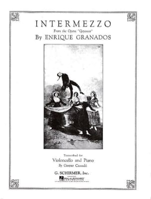 Enrique Granados - Intermezzo - Sheet Music - di-arezzo.co.uk