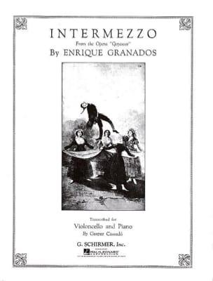 Enrique Granados - Intermezzo - Sheet Music - di-arezzo.com