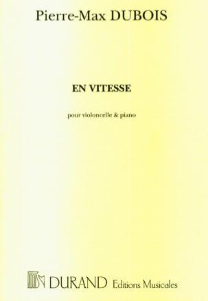 Pierre-Max Dubois - En vitesse - Partition - di-arezzo.fr