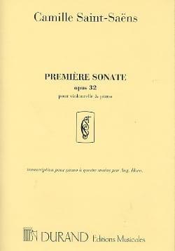 Camille Saint-Saëns - Sonata No. 1 op. 32 - Sheet Music - di-arezzo.com