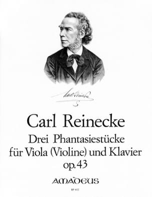 Carl Reinecke - 3 Phantasiestücke Opus 43 - Sheet Music - di-arezzo.co.uk