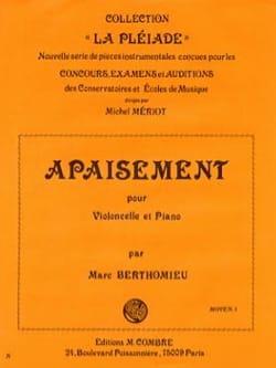 Marc Berthomieu - appeasement - Sheet Music - di-arezzo.com