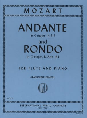 MOZART - Andante And Rondo - Sheet Music - di-arezzo.co.uk