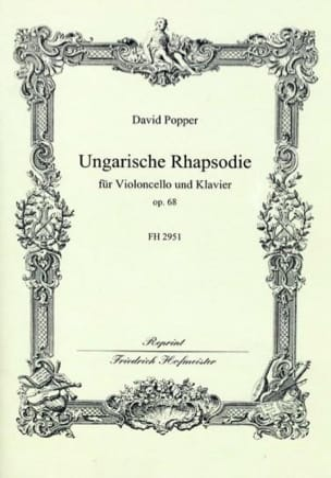 David Popper - Ungarische Rhapsodie op. 68 - Partition - di-arezzo.fr