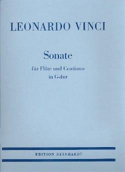 Leonardo Vinci - Sonate en Sol Majeur - flute et basse continue - Partition - di-arezzo.fr