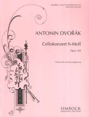 DVORAK - Cello Concerto in B Minor Op. 104 - Sheet Music - di-arezzo.com