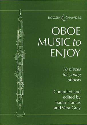Francis Sarah / Gray Vera - Oboe music to enjoy - Partition - di-arezzo.fr