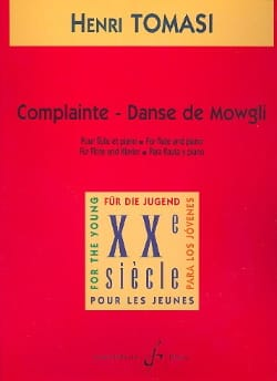 Henri Tomasi - Complaint, Dance of Mowgli - Sheet Music - di-arezzo.co.uk