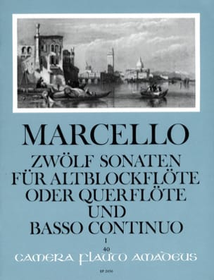 Benedetto Marcello - 12 Sonaten Opus 2 Volume 1 - Partition - di-arezzo.fr