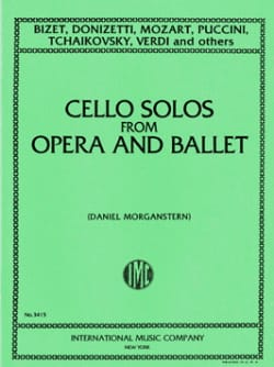 BIZET - Cello solos from opera and ballet - Sheet Music - di-arezzo.co.uk