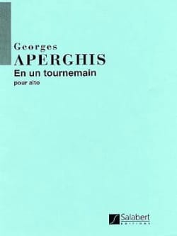 En un tournemain - Georges Aperghis - Partition - laflutedepan.com