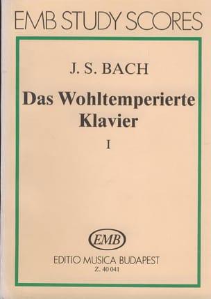 BACH - Das Wohltemperierte Klavier - 1 - Partition - di-arezzo.fr