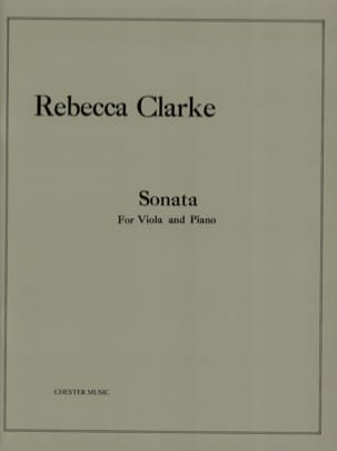 Rebecca Clarke - Sonata - Sheet Music - di-arezzo.co.uk