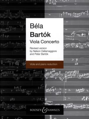 BARTOK - Viola Concerto op. posth rev. vers. Dellamaggiore - Partition - di-arezzo.fr
