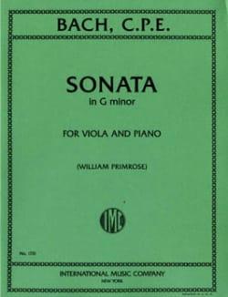 Sonata in G minor - Viola - laflutedepan.com