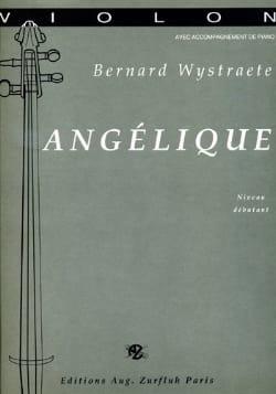Bernard Wystraete - Angélique - Partition - di-arezzo.fr