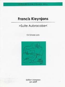 Suite aubracoise - Francis Kleynjans - Partition - laflutedepan.com