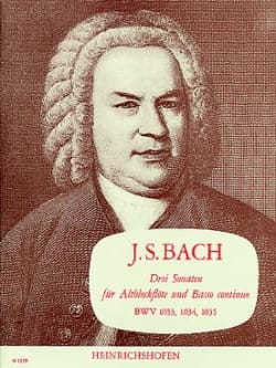 BACH - 3 Sonaten BWV 1033, 1034, 1035 - Sheet Music - di-arezzo.co.uk
