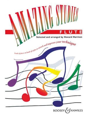 Howard Harrison - Amazing Studies - Flute - Sheet Music - di-arezzo.co.uk