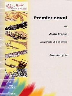 Premier envol Alain Crépin Partition Flûte traversière - laflutedepan