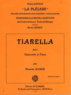 Chantal Auber - Tiarella - Sheet Music - di-arezzo.co.uk