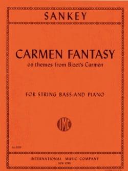 Stuart Sankey - Carmen Fantasy – String bass - Partition - di-arezzo.fr