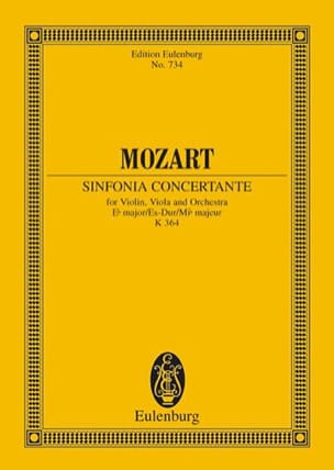 MOZART - Sinfonia Concertante Es-Dur KV 364 - Partitura - di-arezzo.es