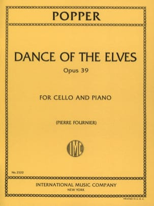David Popper - Dance of the Elves op. 39 - Sheet Music - di-arezzo.co.uk