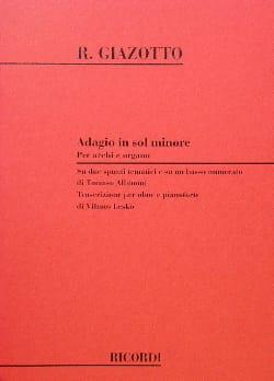 Adagio In Sol Minore - Hautbois - laflutedepan.com