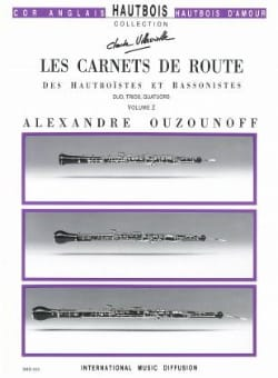Alexandre Ouzounoff - Les Carnets de Route Volume 2 - Parties + Conducteur - Partition - di-arezzo.fr