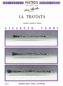 VERDI - La Traviata - Oboe, clarinet and bassoon - Partition - di-arezzo.co.uk