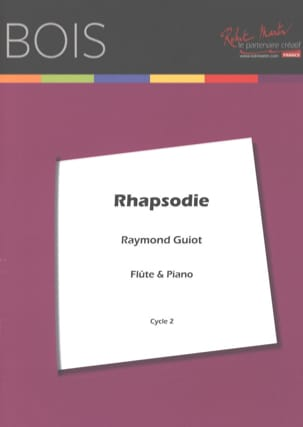 Raymond Guiot - rapsodia - Partitura - di-arezzo.it
