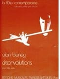 Circonvolutions - Alain Beney - Partition - laflutedepan.com