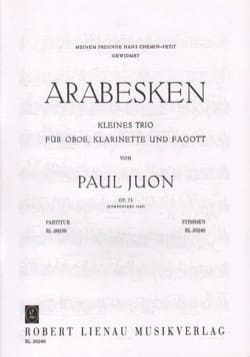 Paul Juon - Arabs op. 73 - Stimmen - Sheet Music - di-arezzo.co.uk