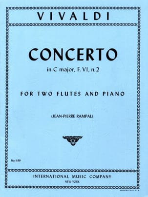 VIVALDI - Concerto In C Major Rv 533 - 2 Piano Flutes - Sheet Music - di-arezzo.co.uk