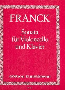 César Franck - Sonata - Sheet Music - di-arezzo.co.uk