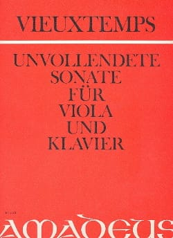 Henri Vieuxtemps - Unvollendete Sonate op. posth. - Sheet Music - di-arezzo.co.uk